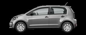 VW Up Månedsleie