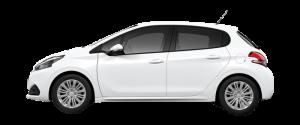 Peugeot 208 Månedsleie