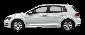 VW Golf Månedsleie