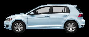 VW Golf 4x4 Månedsleie
