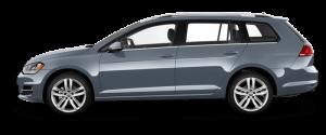 VW Golf Stasjonsvogn Månedsleie