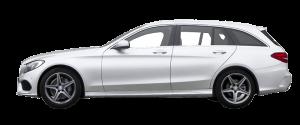 Mercedes C-klasse Stasjonsvogn Månedsleie