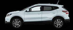 Nissan Qashqai 4x4 månedsleie