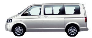 VW Caravelle Måndesleie